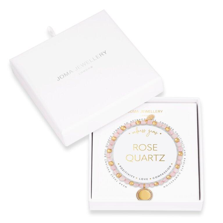 Wellness Gems Rose Quartz Bracelet