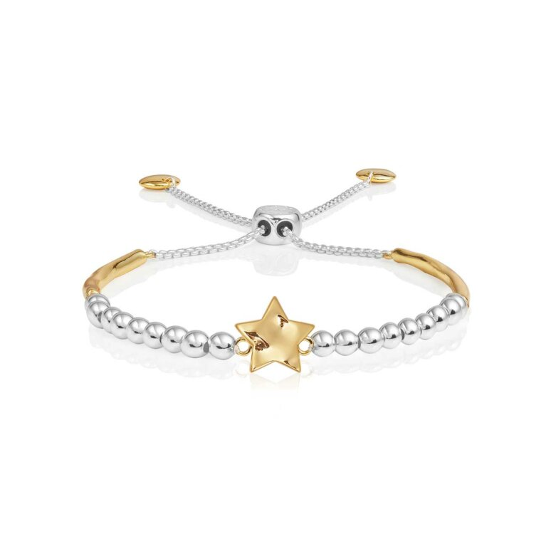 Bracelet Bar | Hammered Star Ball Friendship Bracelet