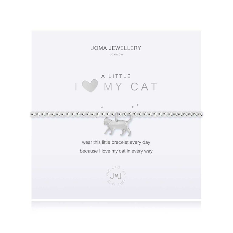 A Little I <3 My Cat Bracelet
