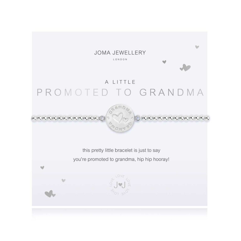 a little Promoted To Grandma Bracelet