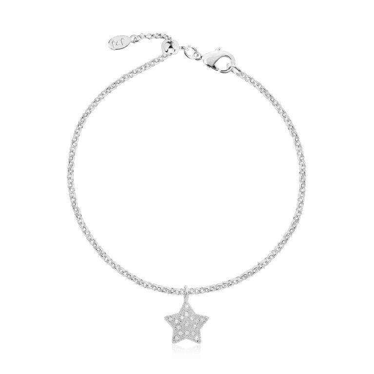 Bella Pave Star Bracelet