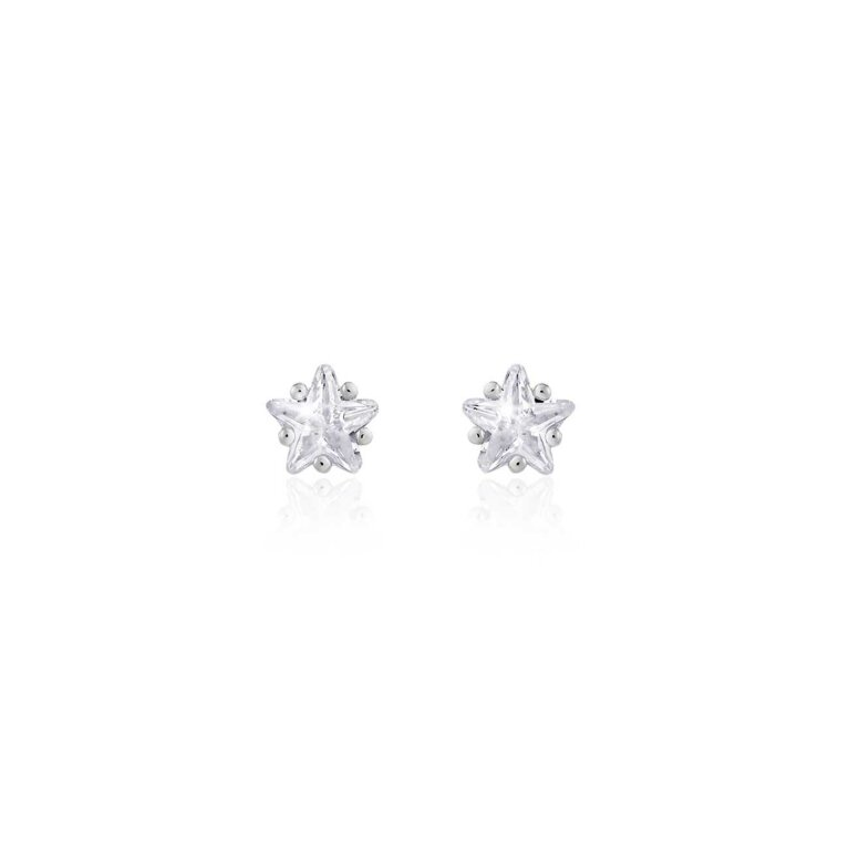 Astra Star Crystal Stud Earrings