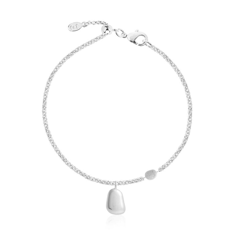 Perfect Pebble Silver Pebble Bracelet