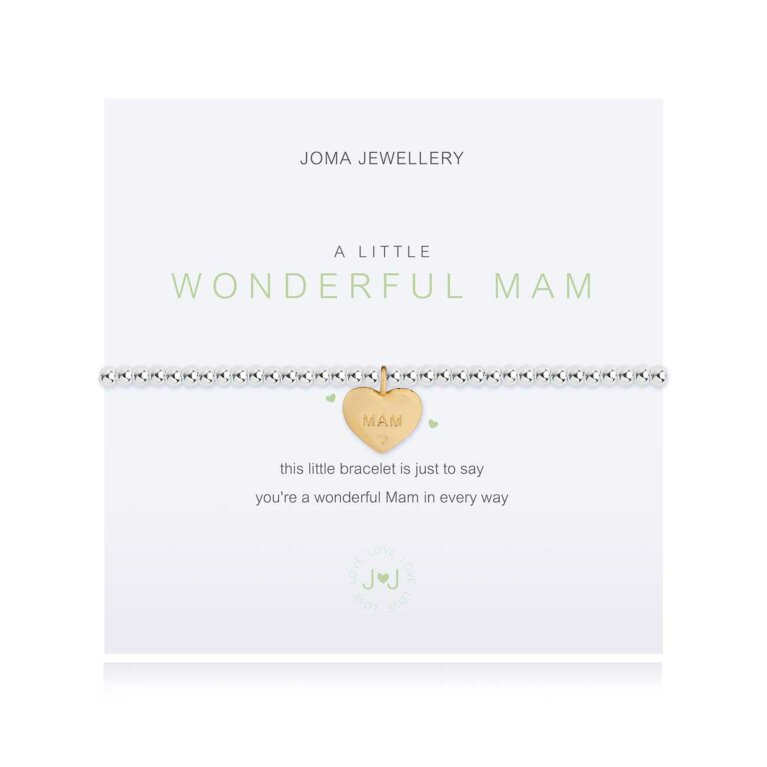 a little Wonderful Mam Bracelet | Irish