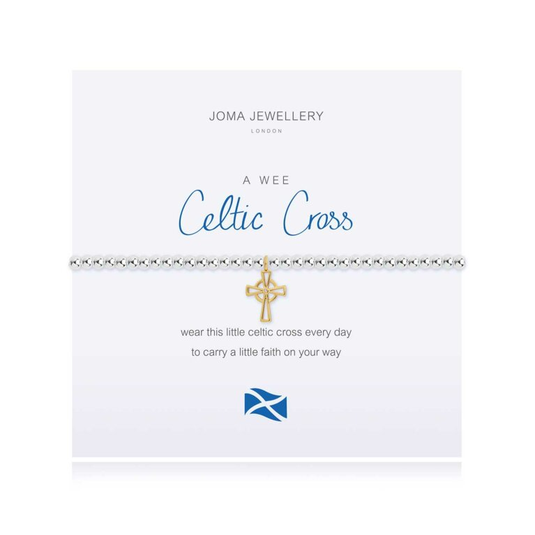 A Little Celtic Cross Scottish Bracelet
