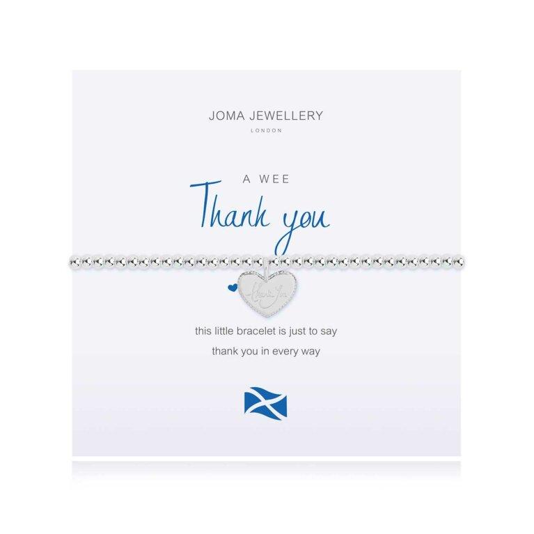 A Little Thank You Scottish Bracelet