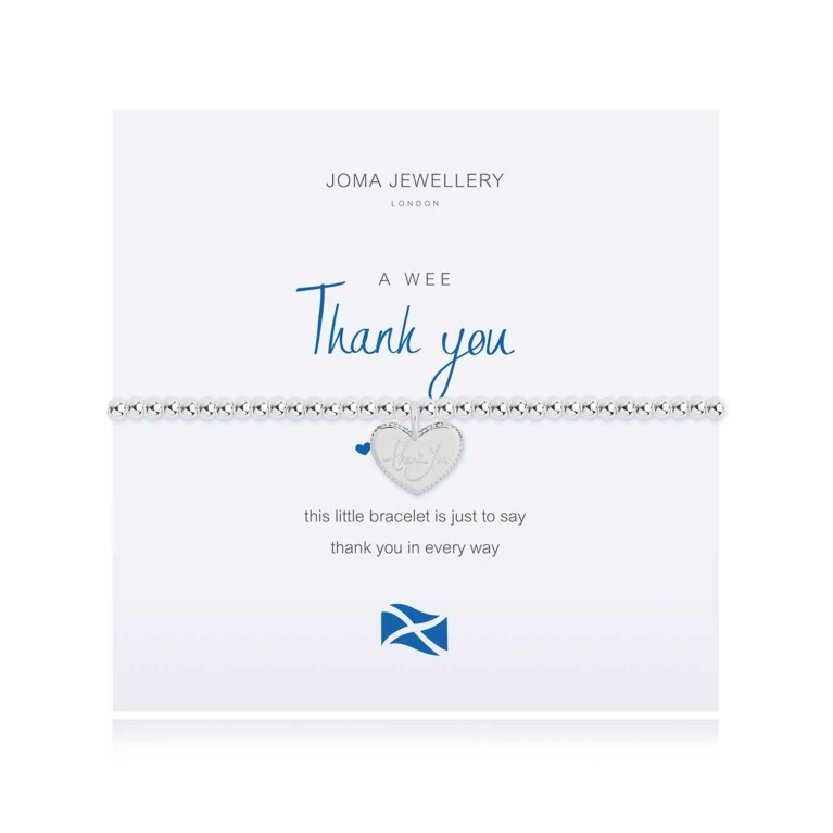 a little Thank You Bracelet | Scottish