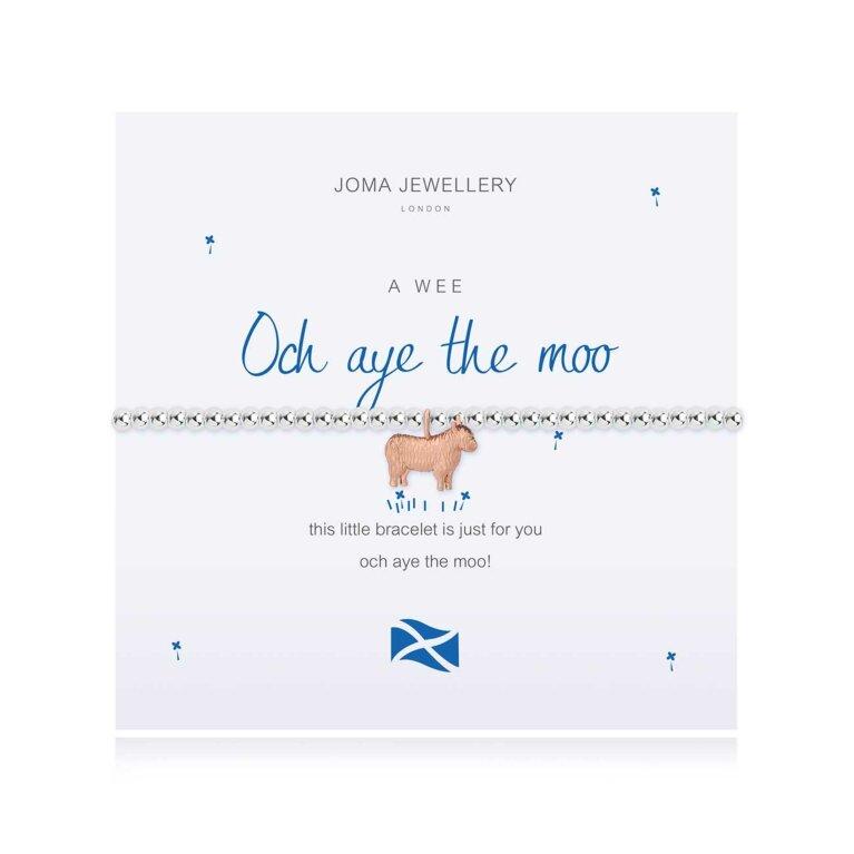 A Little Och Aye The Moo Scottish Bracelet