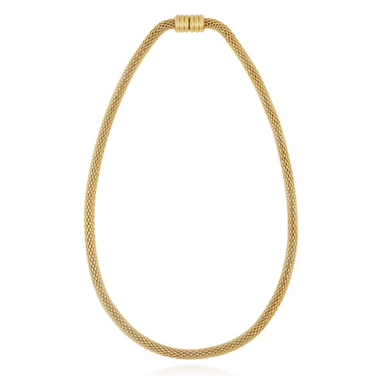 Halo Venetian Chain Gold Necklace