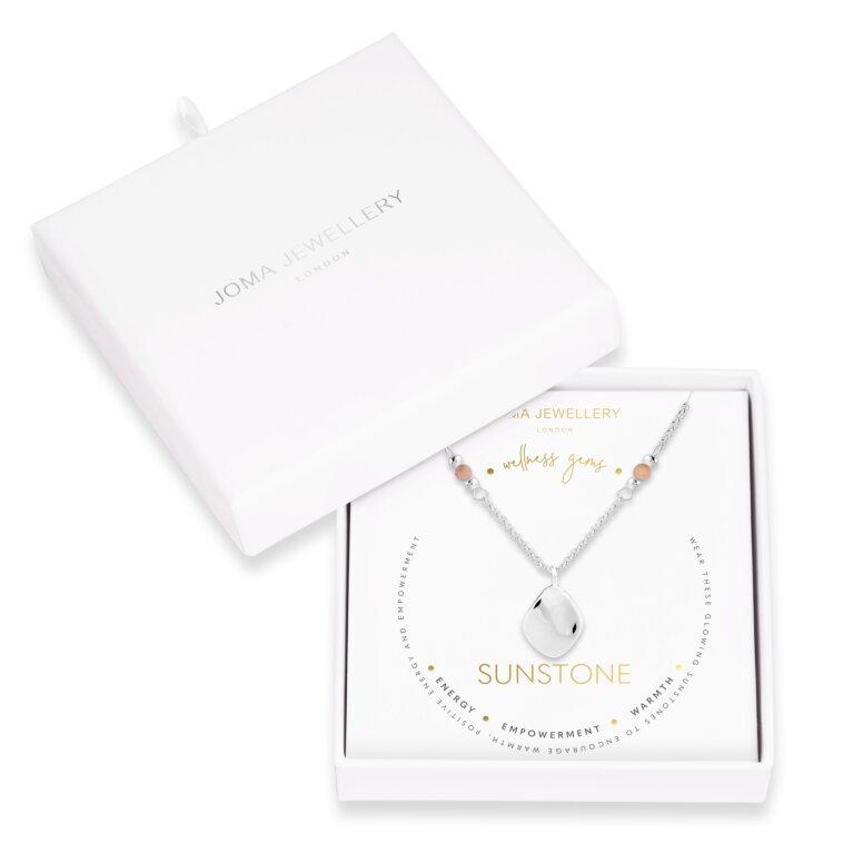 Wellness Gems | Sunstone Necklace