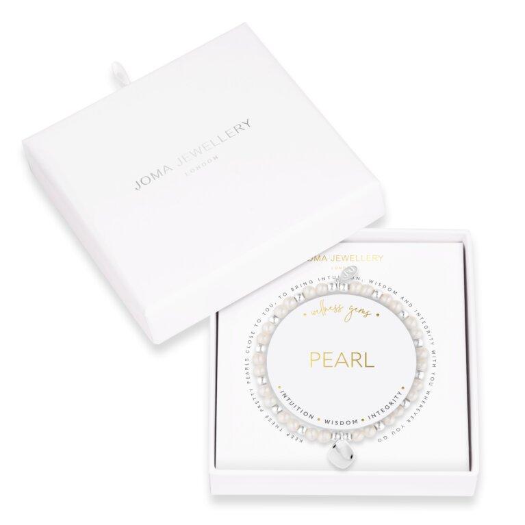 Wellness Gems | Pearl Bracelet