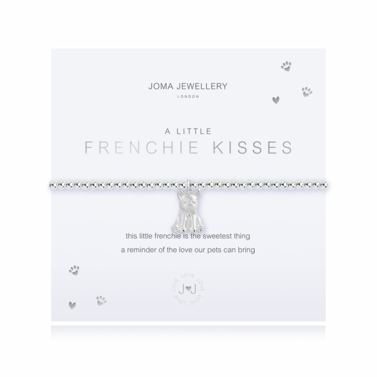 a little Frenchie Kisses Bracelet