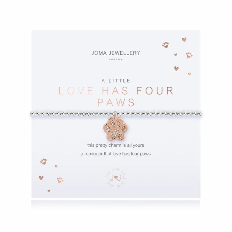 A Little Love Has Four Paws Bracelet