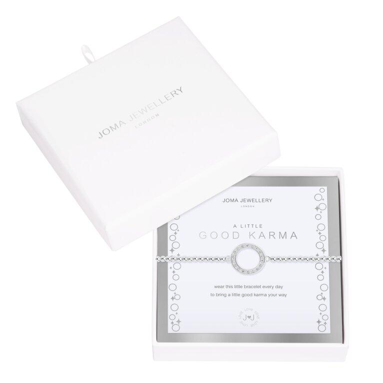 Beautifully Boxed A Little Good Karma Bracelet