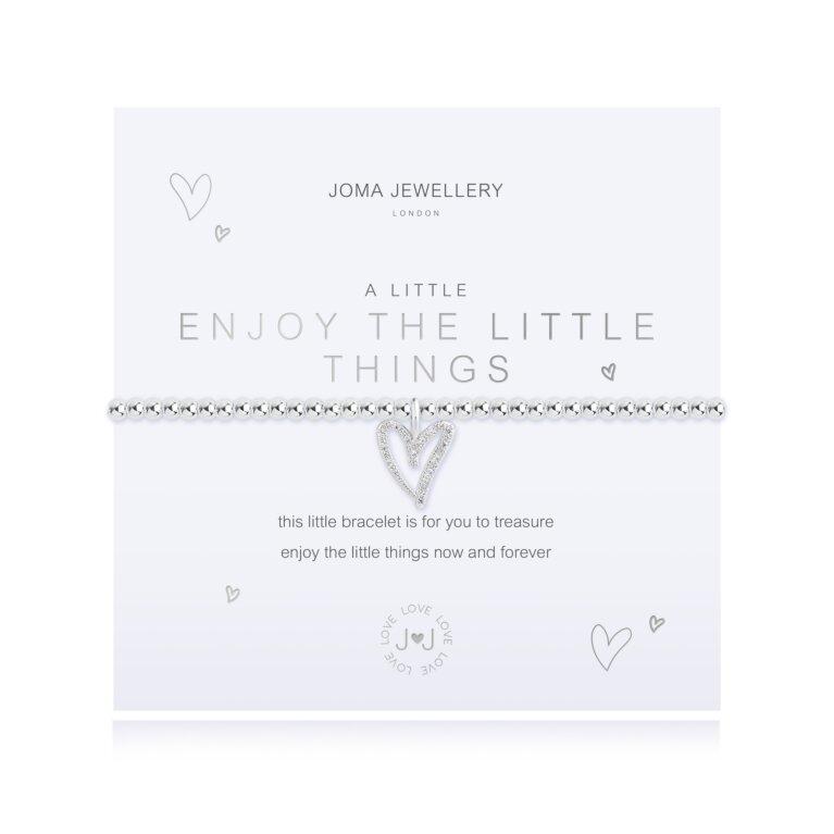a little Enjoy The Little Things Bracelet