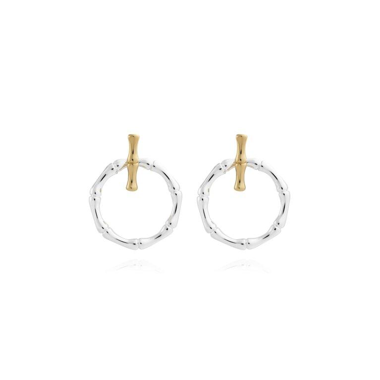 Statement Earrings Bamboo Ear Jackets