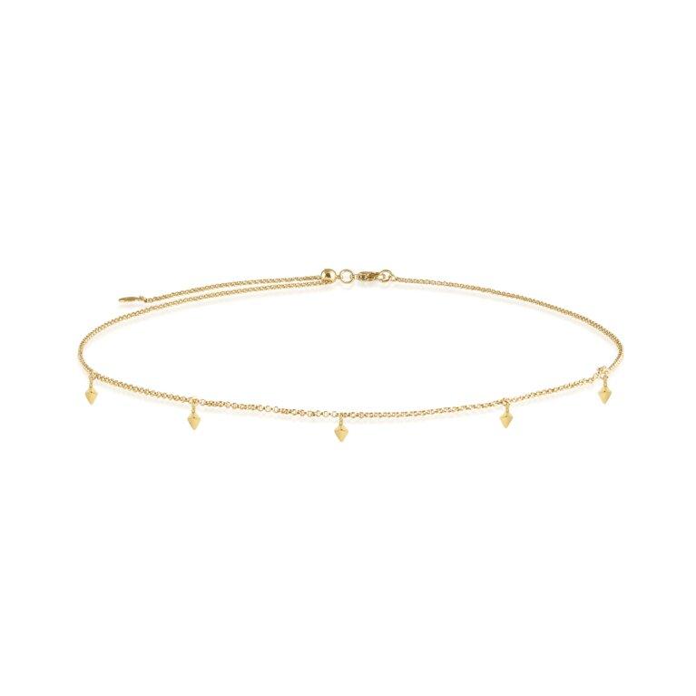 Celine Choker   Gold Charm