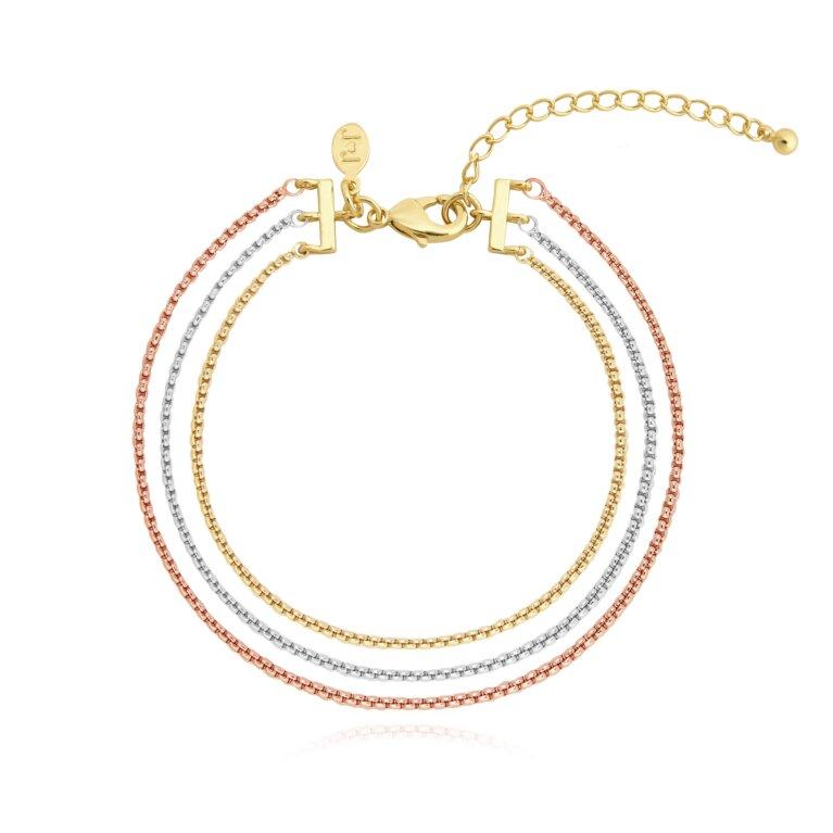 Ella   Multi Chain Bracelet