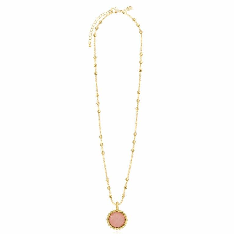 Capri | Rose Quartz Necklace