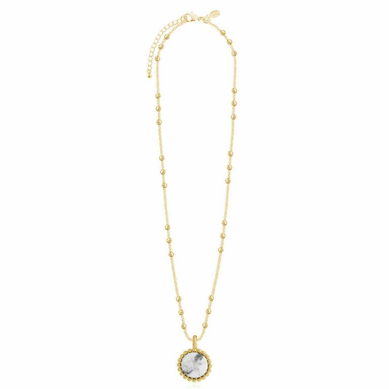 Capri | Howlite Necklace