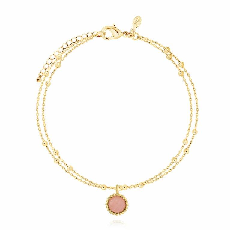 Capri | Rose Quartz Bracelet