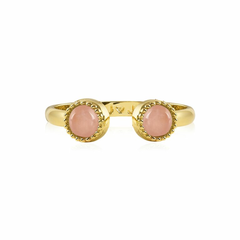 Capri | Rose Quartz Ring