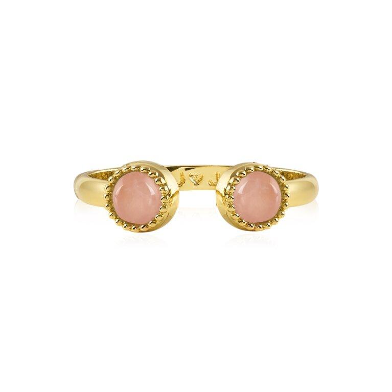 Capri Rose Quartz Ring