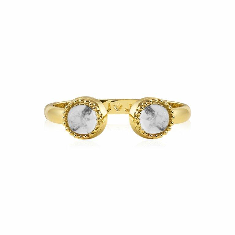 Capri | Howlite Ring