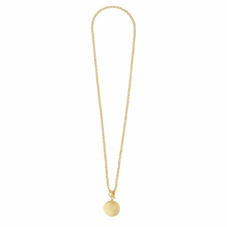 Life Lockets | Gold Round Locket Necklace