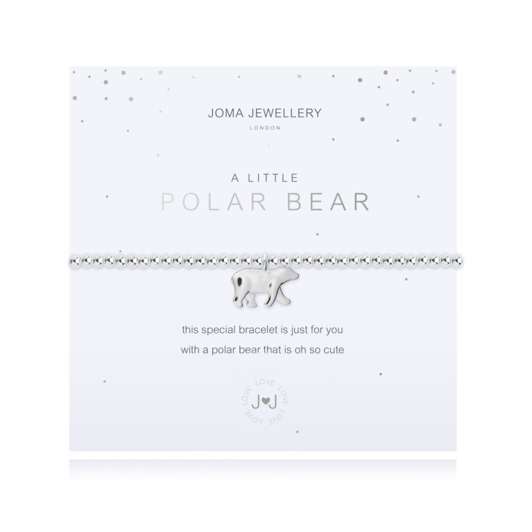 A Little Polar Bear Bracelet