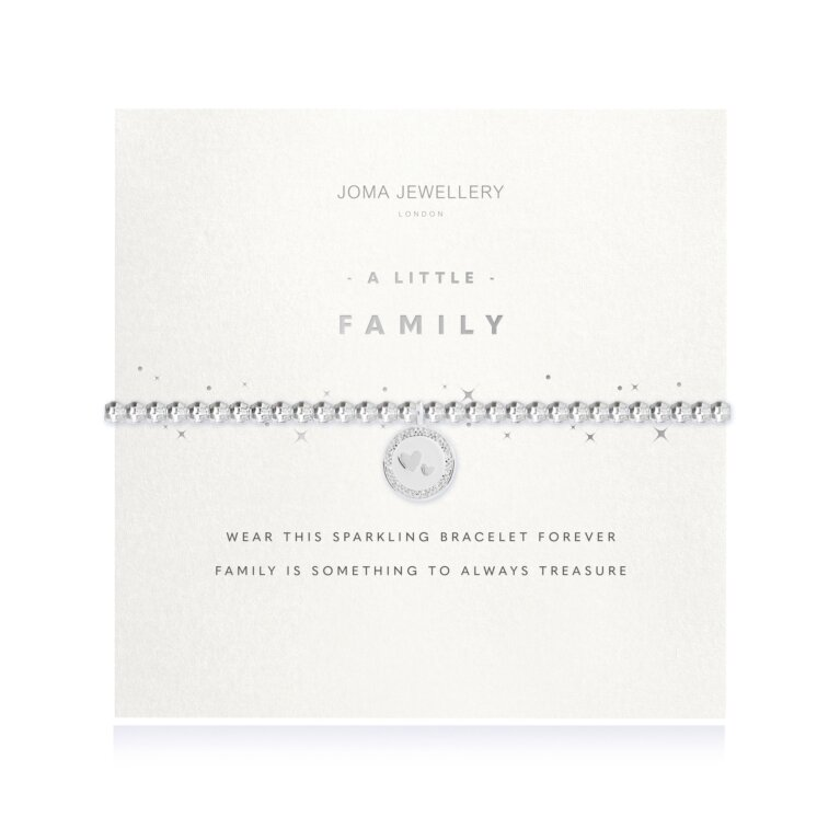 A Little Family Faceted Bracelet