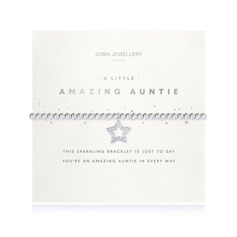 A Little Amazing Auntie Faceted Bracelet
