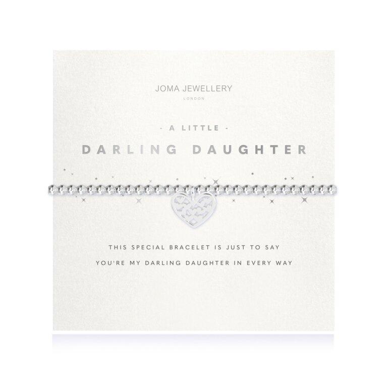 A Little Darling Daughter Faceted Bracelet