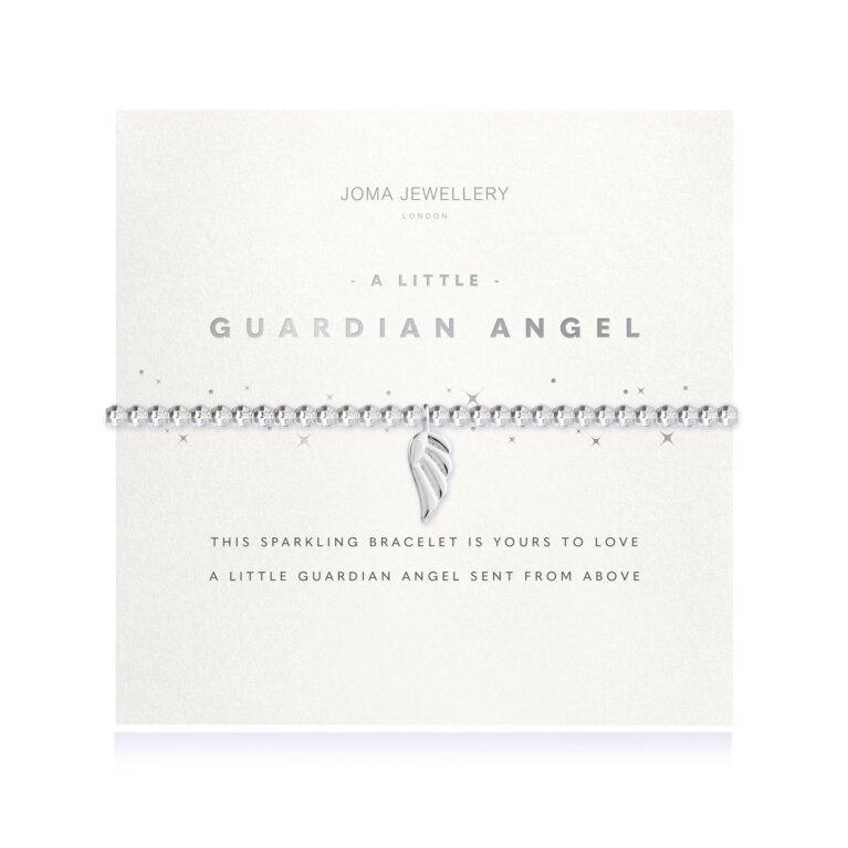 a little Guardian Angel Faceted Bracelet