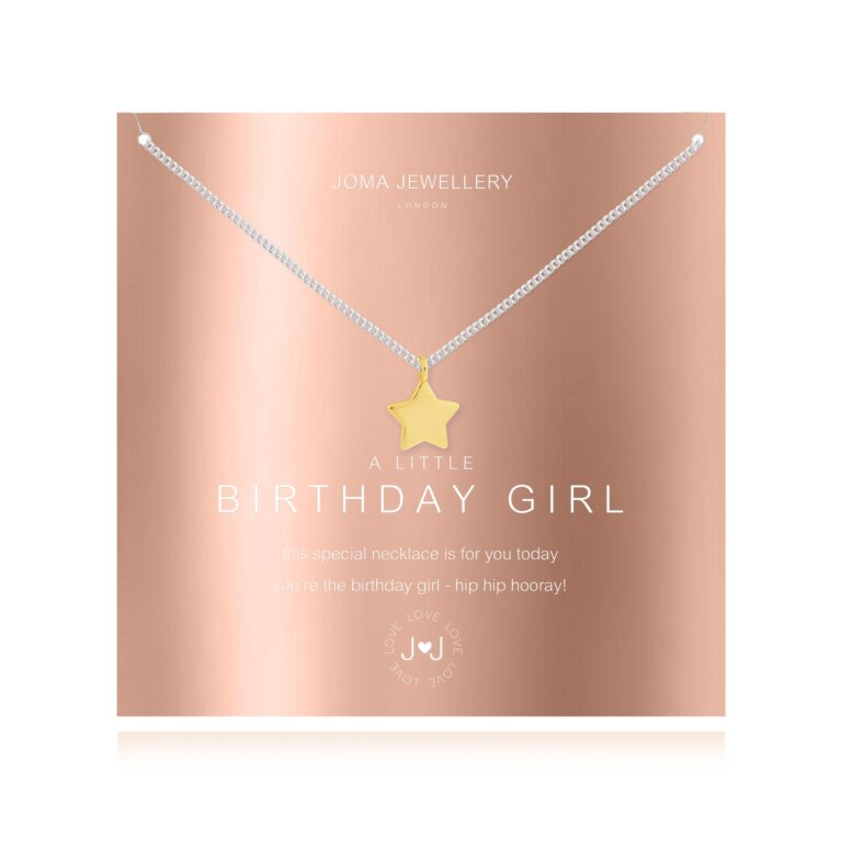 a little Birthday Girl Necklace