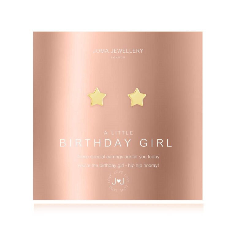 a little Birthday Girl Earrings