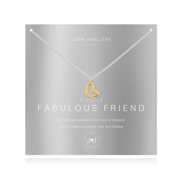 a little Fabulous Friend Necklace
