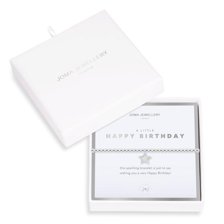 Beautifully Boxed a littles Happy Birthday Bracelet