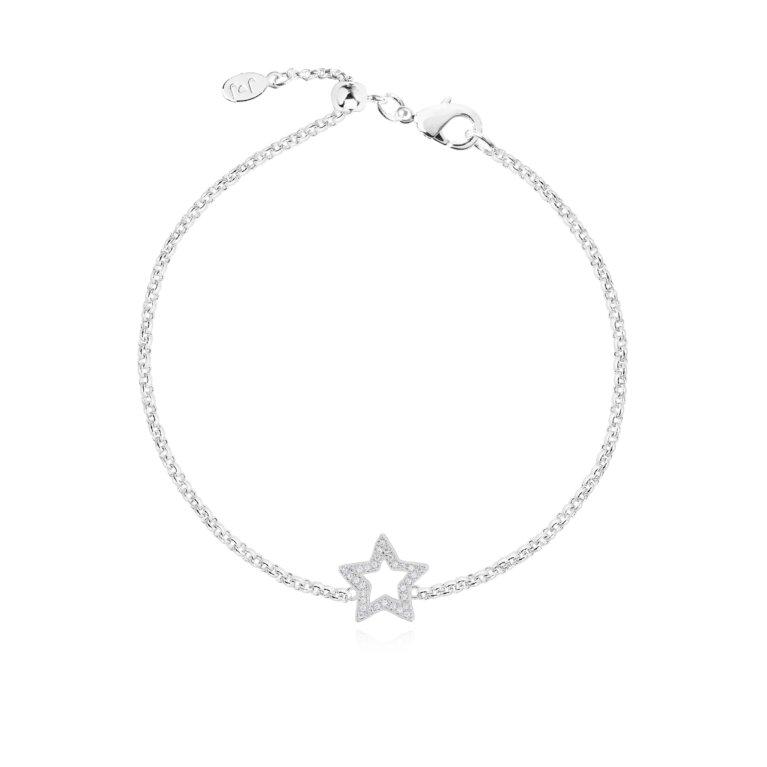 Lucia Lustre Star Organic Pave Bracelet