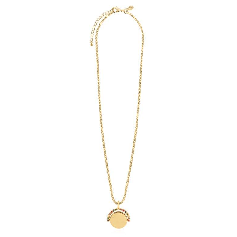 Positivity Pendants Keep On Shining Necklace