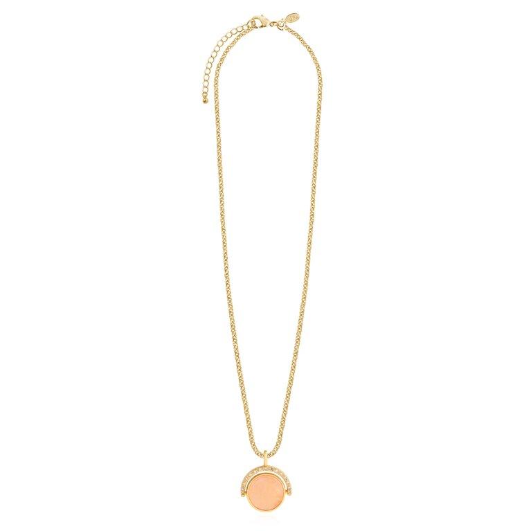 Positivity Pendants Live Love Sparkle Necklace