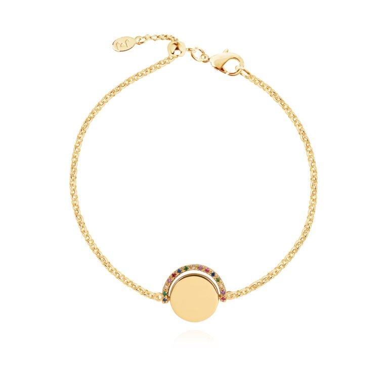 Positivity Pendants Keep On Shining Bracelet