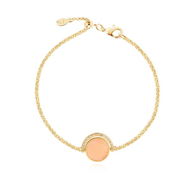 Positivity Pendants Live Love Sparkle Bracelet