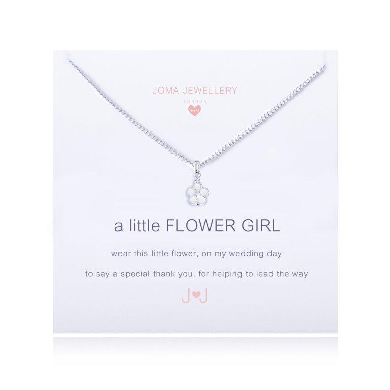 Children's a little Flower girl Necklace