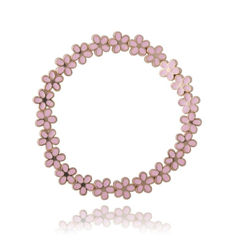 Floratine Flower Bracelet - pink