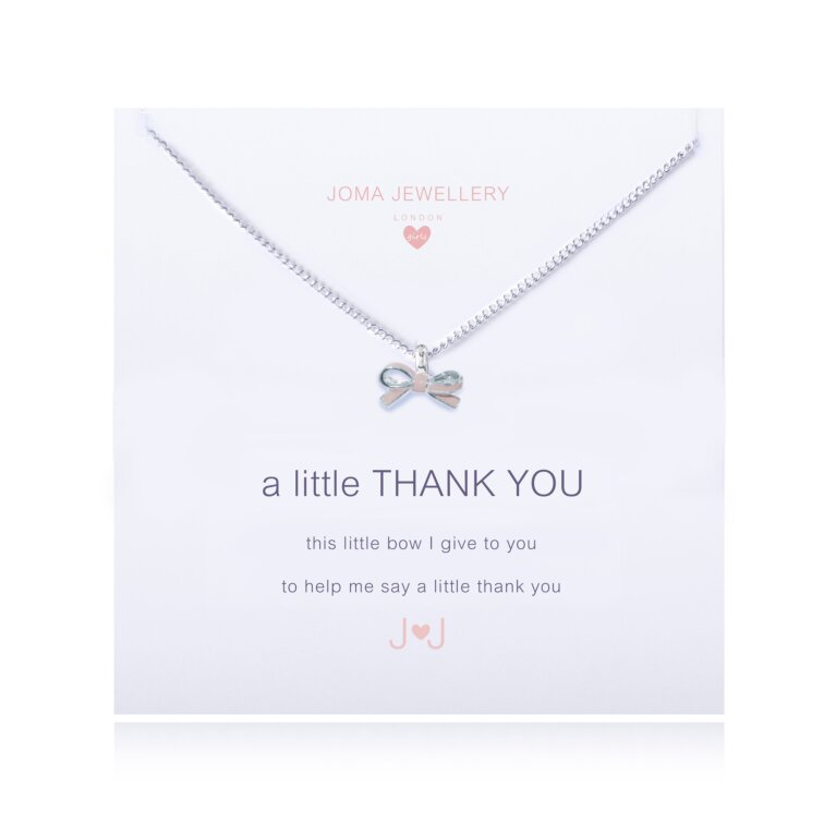 Children's a little Thank You Necklace