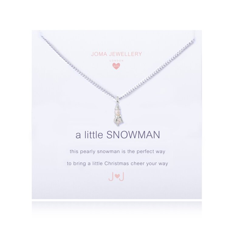 Children's a little Snowman Necklace
