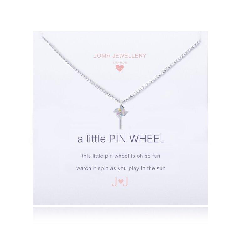 Children's A Little Pin Wheel Necklace