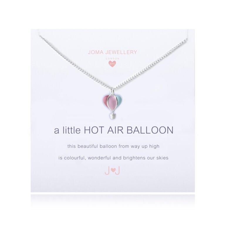 Children's a little Hot air balloon Necklace