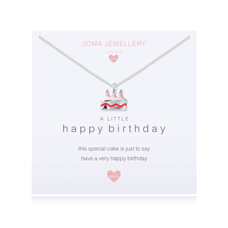 Children's a little Happy birthday Necklace